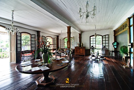 The Expansive Ground Floor of the Balay Negrense Museum