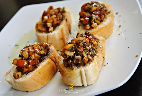 Bruschetta at Cafe 1925