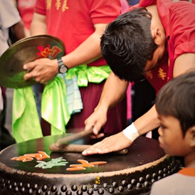 Drumbeat for the New Year in Binondo