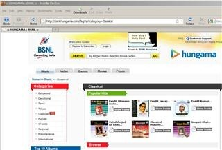 bsnl hungama (Mobile)