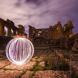 Shahat City - East of Libya by Essam El Sabri - Abstract Light Painting ( shahat city - east of libya )