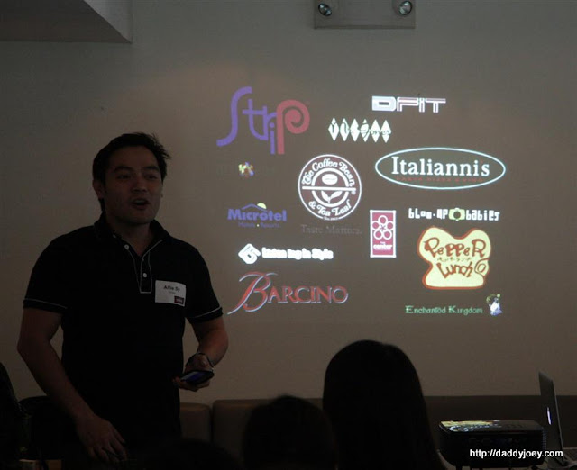 Alfie Sy, Marketing Director of Enjoy