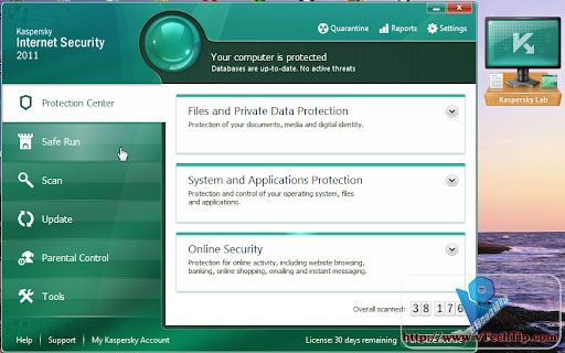 Kaspersky Antivirus + Internet Security 2011