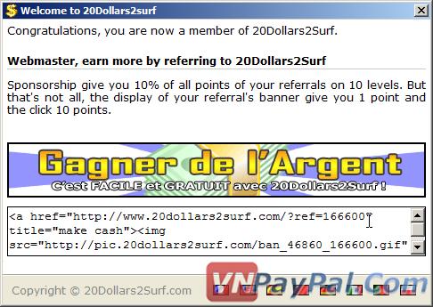20dollars2surf - Kiếm Tiền Uy Tín Với Cashbar, Không Cần Làm Gì Cả