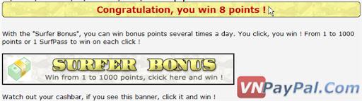 Kiếm Points/Tiền Cực Nhanh Với 20Dollars2Surf - Tăng Thu Nhập