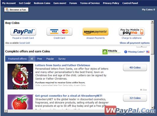 Kiếm Tiền Facebook Tương Tự EasyCash