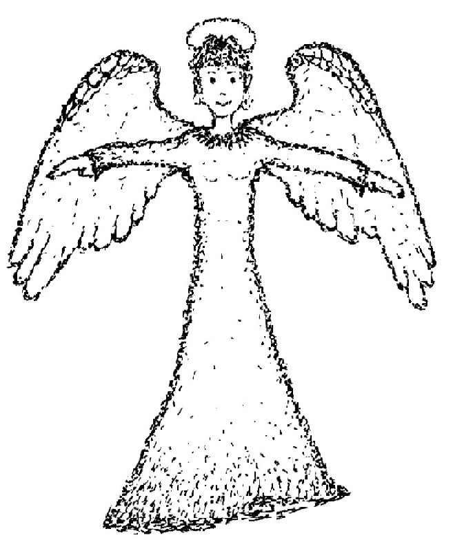 angeles colorear (2)