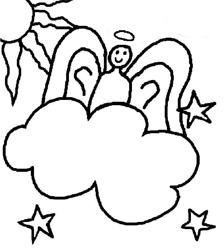 angeles colorear (4)