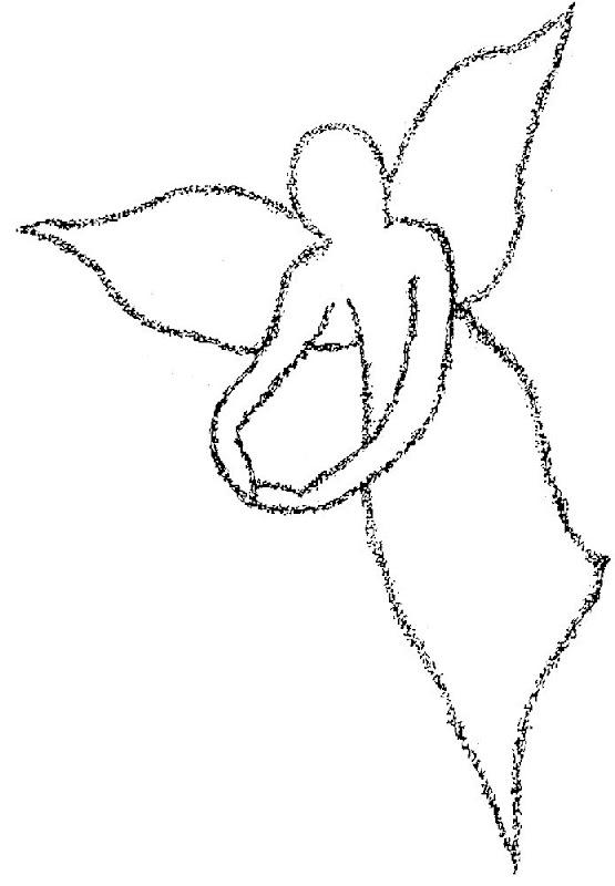 angeles colorear (9)