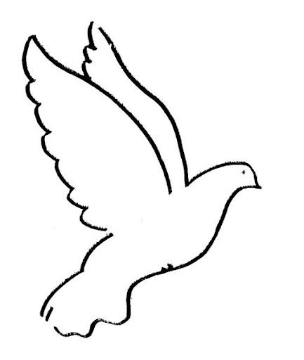 Dibujos para colorear palomas para boda  Imagui