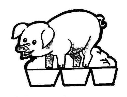 11-Belén recortable 001 cerdo 2