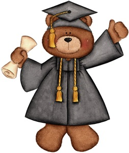 September Bear Graduation