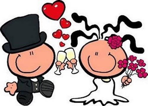 Dibujos animados de bodas - Imagui