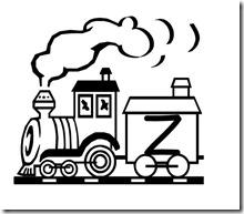 abecedario de tren 19