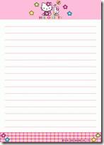 papel carta hello kitty blogcolorear (1)