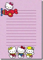 papel carta hello kitty blogcolorear (14)