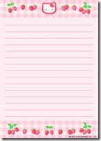papel carta hello kitty blogcolorear (7)