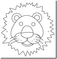 mascara león blogcolorear-com (6)