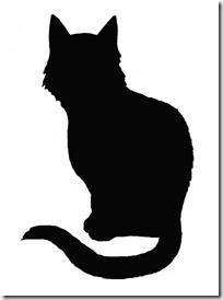 silueta de gato blogdeimagenes  (8)