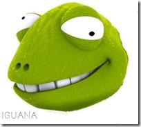 máscara iguana loca 1