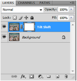 Tilt Shift Layer