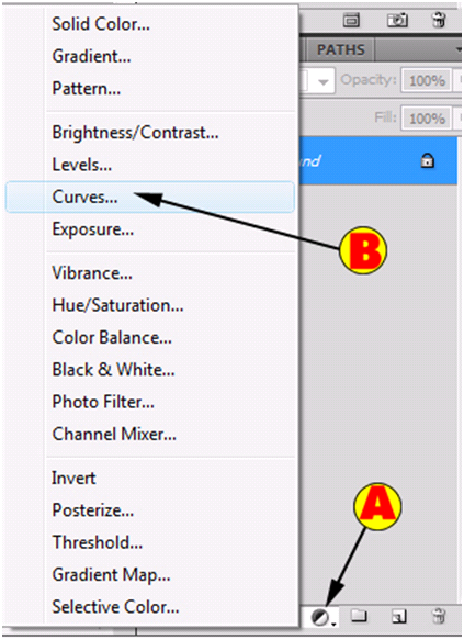 Create Adjustment Layer