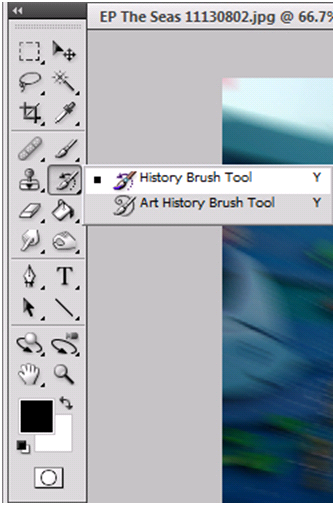 History Brush Tool