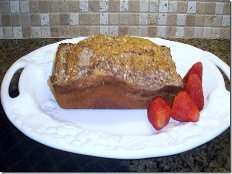 Cinammon quick bread