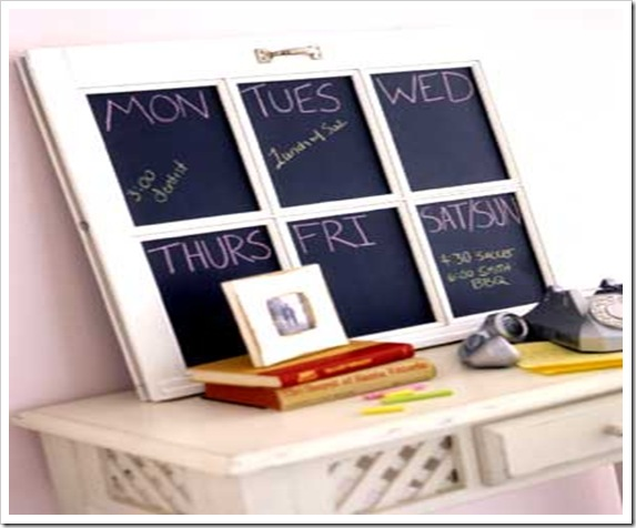 janela quadro-agenda