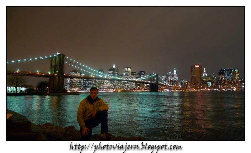 Distrito financiero y Puente de Brooklyn