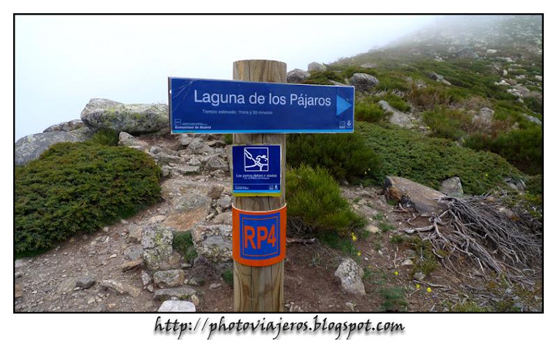 Indicacion a la Laguna de los Pajaros