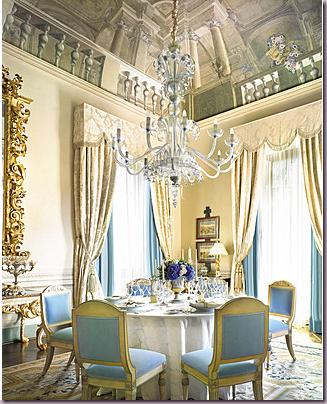 Rococo Dining room