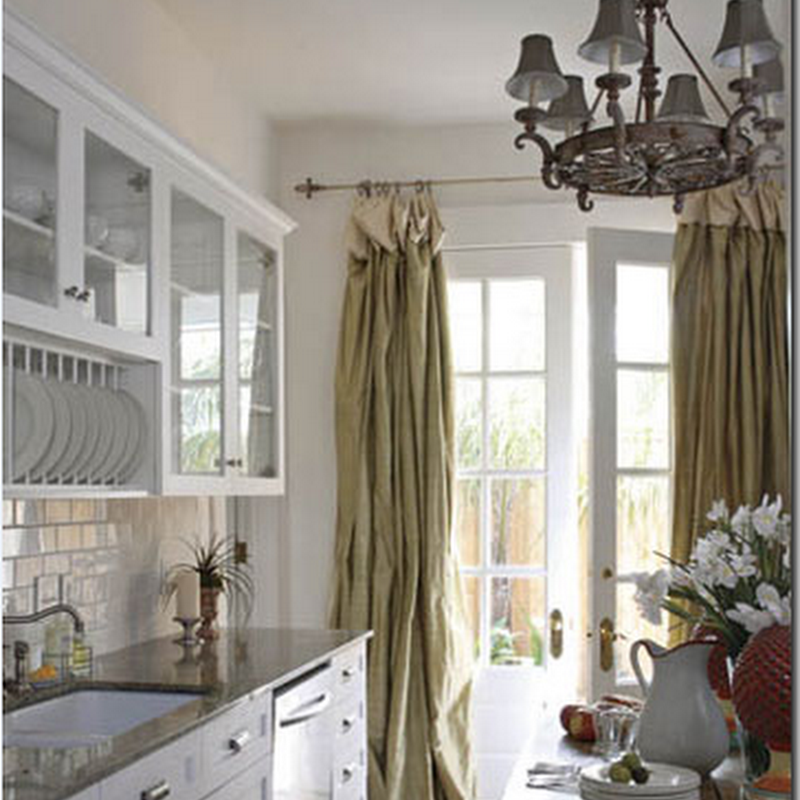 New Orleans Style Curtains Kitchen