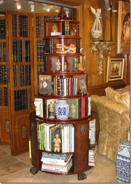 Round Bookcase &amp; Book Screen