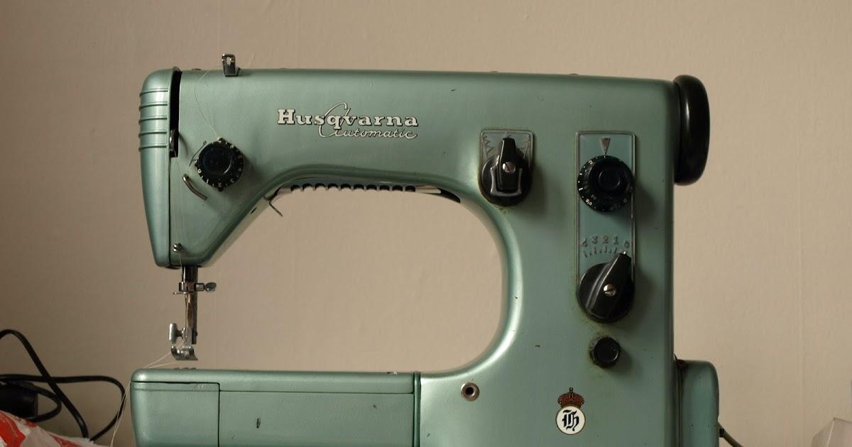 Spinning A Yarn  Husqvarna Automatic    Viking 21a Sewing