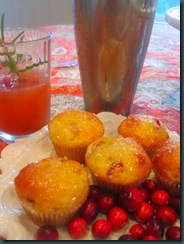 cranberry muffins and spritzer 083