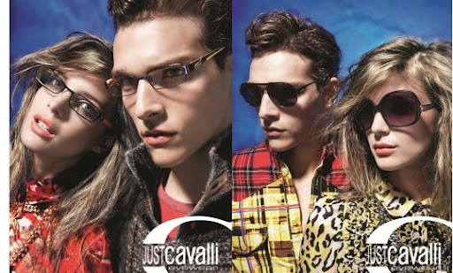 The Just Cavalli sunglasses