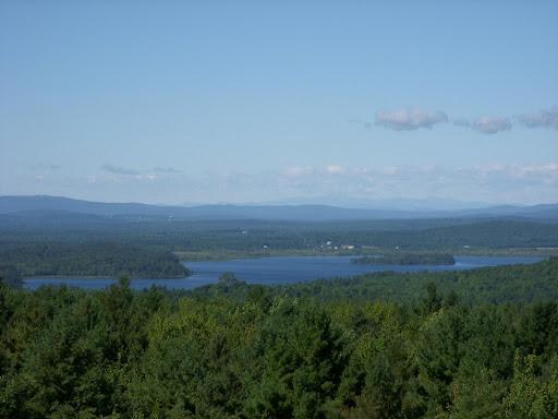 view from Mt. Pisgah firetower
