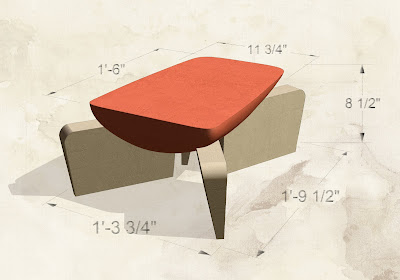 Corb table (rendering, 2002)