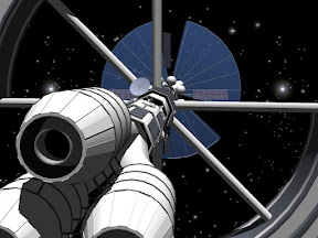 Jonathan Williams Bussard Ramjet Space Vehicle 2007 SketchUp 1