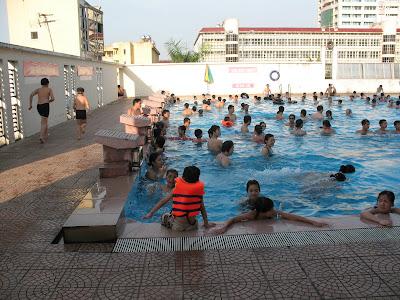 Bơi lội giúp kéo dài tuổi thọ