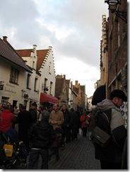 Туристы в Брюгге