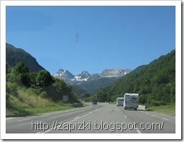 Дорога в Пиренеях.