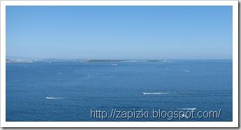 Канны, вид на Леринские острова