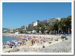 Канны, общественный пляж
