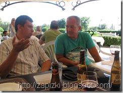 Разговоры за жизнь в кафешке Мини-Европы