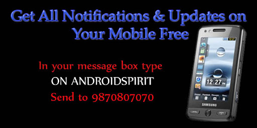 get all notifications on your mobile by android spirit