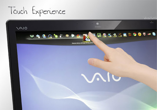 Sony VAIO J series released Desktop PC, multitouch experience