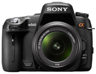 Sony's New High Performance Alpha DSLR A560 & A580 with 3D Sweep Panorama, Full HD