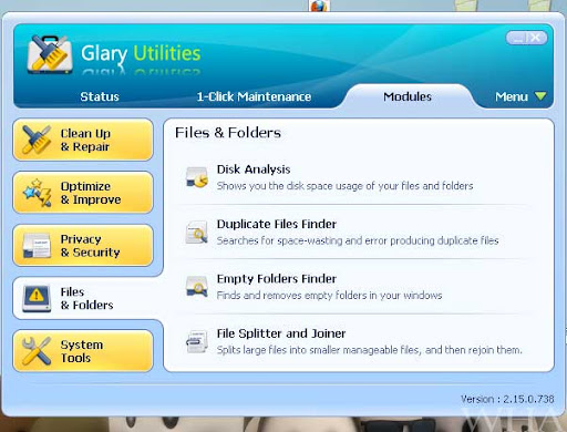 Glary Utilities-Ultimate System Maintenance & Security Solution missing dll files, duplicate file finder -Download Free